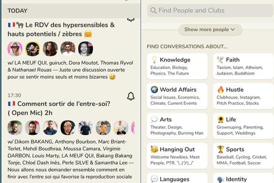 Clubhouse: comment ça marche et comment obtenir une invitation?