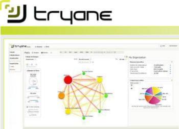 tryane édite un logiciel de business intelligence dédié à la collaboration
