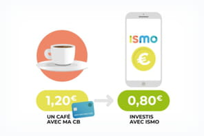Ismo, l'application qui investit vos arrondis en Bourse