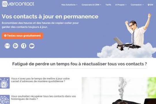 Evercontact  lève 700000euros auprès d'Axa Strategic Ventures