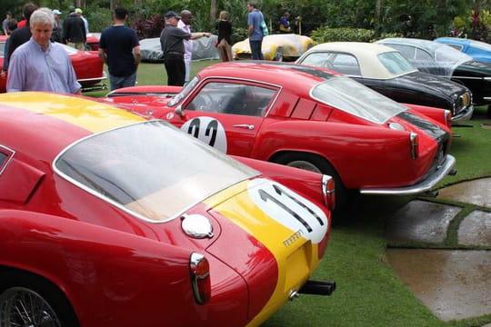 Une extraordinaire collection de Ferrari au Cavallino Classic