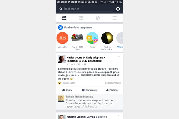 Workplace by Facebook version mobile