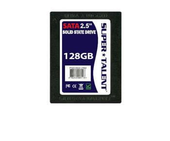le disque dur ssd 128 gb de super talent technologies