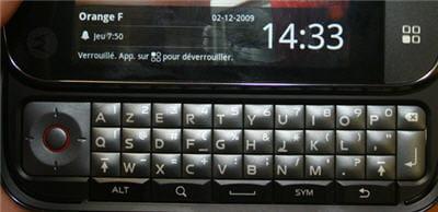 le clavier azerty complet et réactif