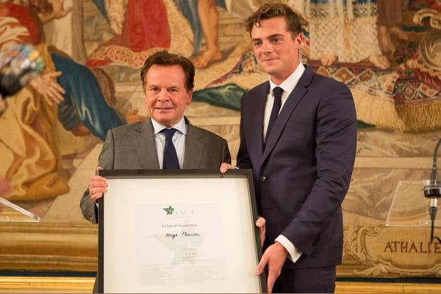 Hugo Mercier (Rythm) reçoit un Ivy Special Award