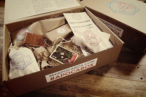 Un abonnement pour recevoir une box… de survie