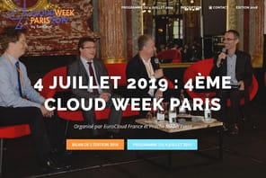 Cloud Week Paris: rendez-vous le 4juillet pour les rencontres du cloud