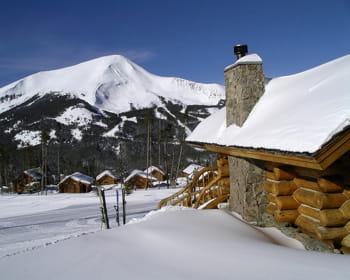 les membres peuvent profiter de cette station de ski privée du montana.