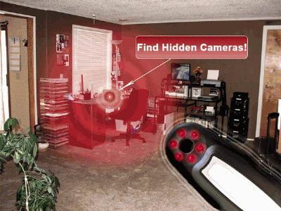 les caméras s'illuminent de rouge