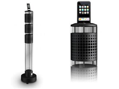 un système d'enceintes acoustiques pour ipod très haut de gamme