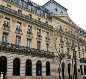 le siège de la sociét générale, à paris.