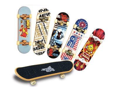 faites comme les pros du skateboard avec vos doigts