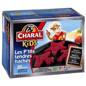 pouramuser les enfants, charal a sorti des steaks en forme d'étoiles ou de