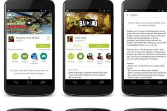 Google relooke son Play Store