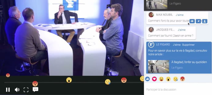 Le Figaro lance son média vidéo interactif Figaro Live