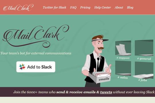 MailClark, un Français dans le top10des bots Slack les plus utilisés