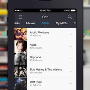 capture d'écran app store.