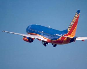 un boeing de southwest airlines.