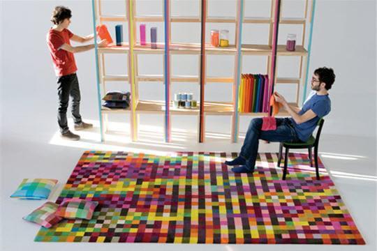 Pixel art tapis