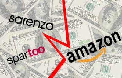 sarenza et spartoo ont refusé les offres de rachat d'amazon