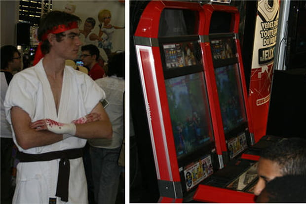 Ryu et Street Fighter