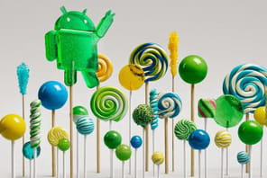 "Google lance Android 5.0 ""Lollipop"""