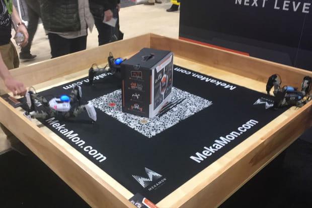 Mekamon: robot-spider en réalité augmentée