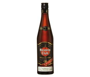 une bouteille d'havana club.