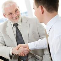 avoir un entretien avec le chef d'entreprise sera perçu comme un marque de