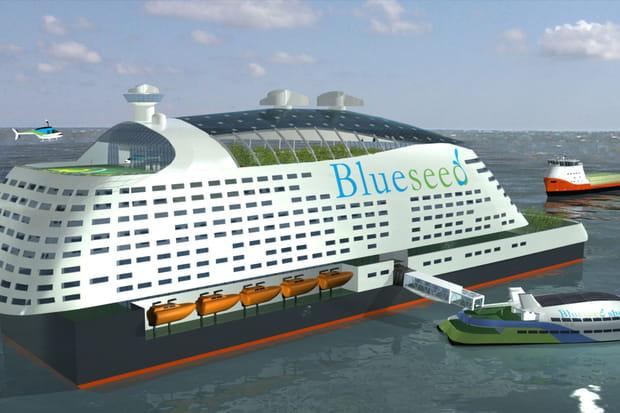 Blueseed Modern Hull