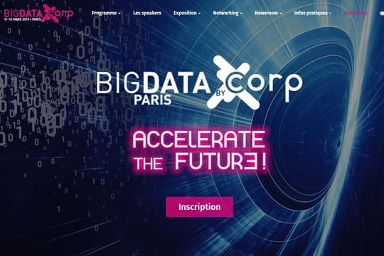 Le Big Data Paris 2019: se tiendra les 11et 12mars