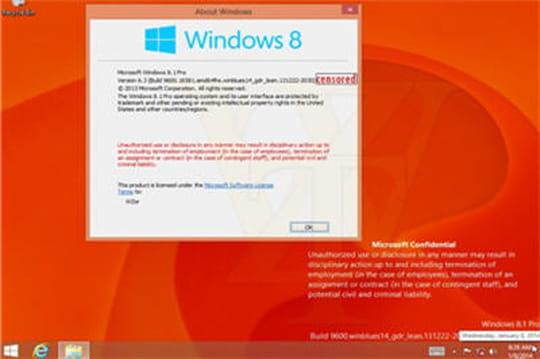 """Windows 8.1 """"Spring 2014"""" : les captures d'écran fuitent"""
