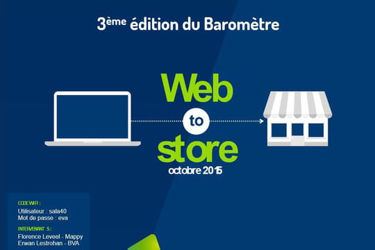 Tout savoir sur les comportements web-to-store des consommateurs français