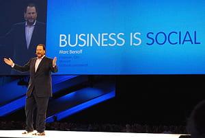 marc benioff a fondé salesforce.com en 1999 avec parker harris , dave