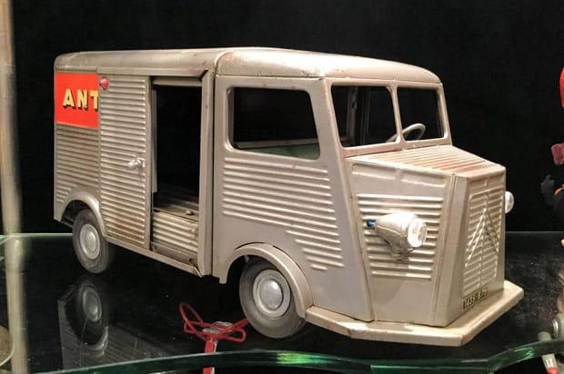 Jouet Tube Citroën de 1959, jusqu'à 700euros
