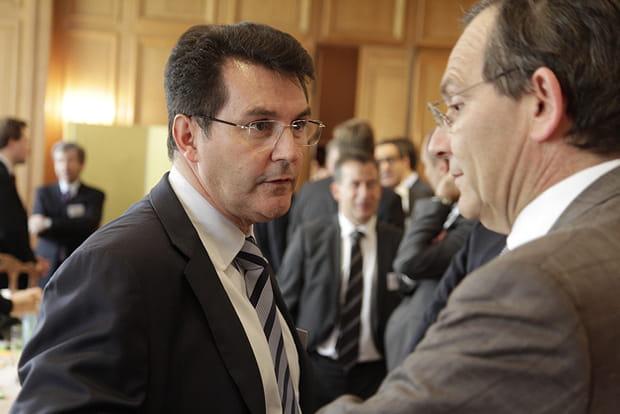 Olivier Roussat (Bouygues Telecom) et Jean-Paul Cottet (Orange)