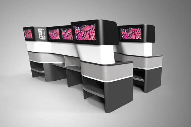 Des écrans de divertissement sur chaque siège