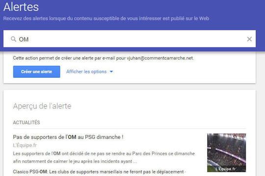 Comment  améliorer sa veille avec Google Alertes