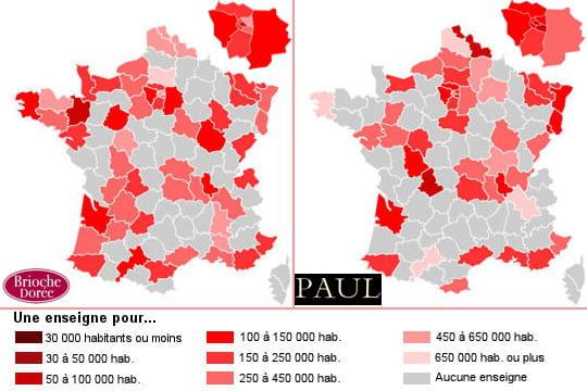 Boulangeries: Brioche Dorée prend l'Ouest, PaulleNord
