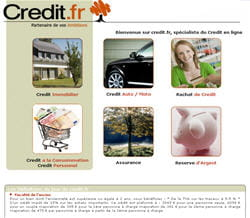 le site de credit.fr