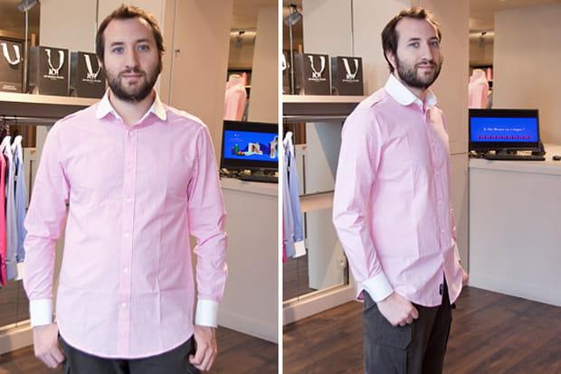 nouveaux ateliers : essayage de la chemise