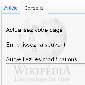 tous les contenus de l'encyclopédie sont, en théorie, libres.