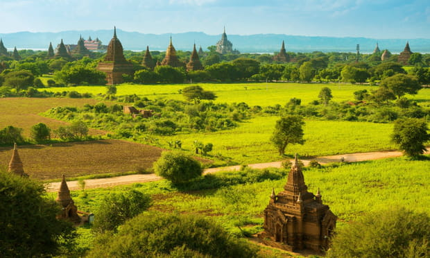 Bagan (Birmanie): millénaire