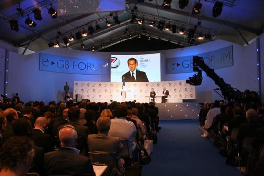 Le G8 de l'Internet en images