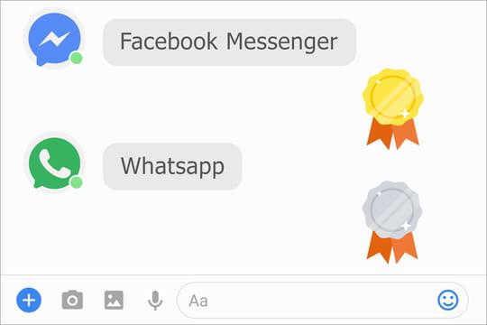 Messageries : Facebook règne sur le marché français