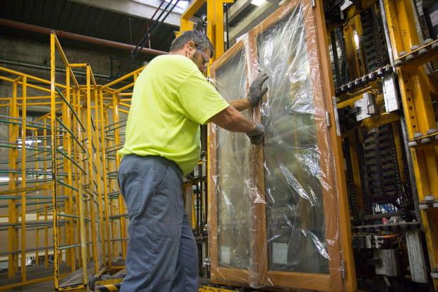 Usine fenêtres Lapeyre : gondage