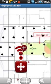 paramétrage des zones auxquelles affecter une action via insiteo