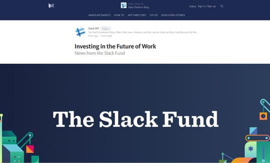 Slack investit dans 14 sociétés... dont une française