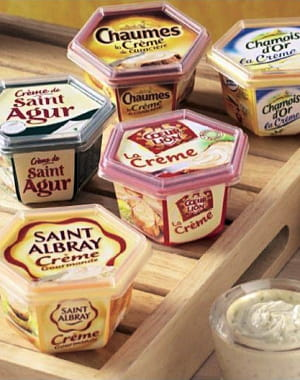 après le succès de la crème de saint-agur, bongrain a décliné toutes ses marques