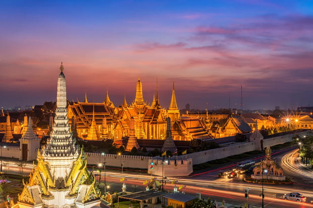 3e : Bangkok, Thaïlande, 61,44 £ (79,40 €)